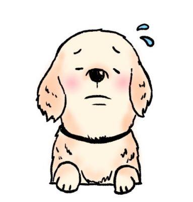 犬 悲しい